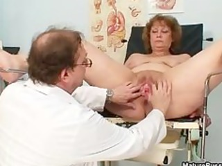 lustful doctor abusing a impure grandma part1