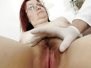 hirsute grandma enema during a medical exam