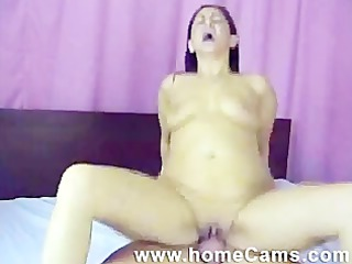 dilettante latin chick receives her wazoo pounded