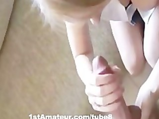 hot blonde wife acquires doggystyled