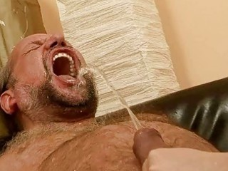 grandad fucking and pissing on naughty redhead