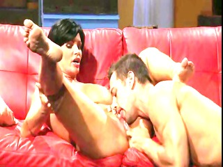 hawt brunette hair mama shay fox has a hard