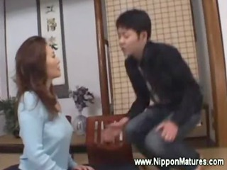 oriental milf demands lad to take up with the