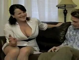 hot breasty smokin mama bangs soninlaw