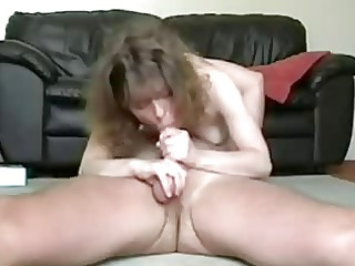 lewd wife sucks and copulates cock