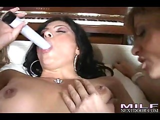 hot milfs kayla paige and allies enjoys a wild