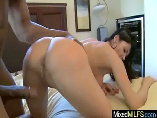 wicked milf acquire hard sex with dark large cock