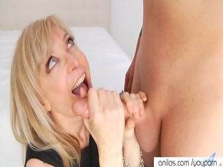 nina hartley gets cunt jizzed