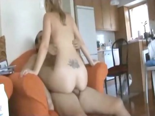 beautiful cheating wife on homemade anal fuck