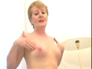 overweight little titted granny copulates