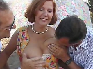 older bitch susan takes on hard dicks and uses