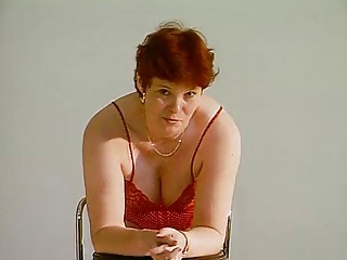 mature german lady shows off video