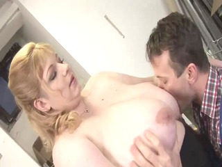 blond big gorgeous woman-mother id like to fuck