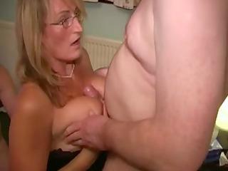 british doxy mother loves cum facual cumshots
