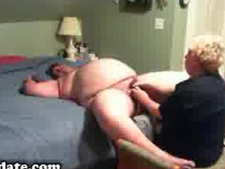 older gives chubby hubby worthy cook jerking