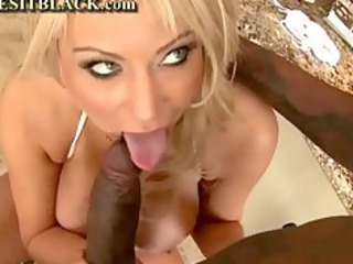 busty hot mama and her darksome lover