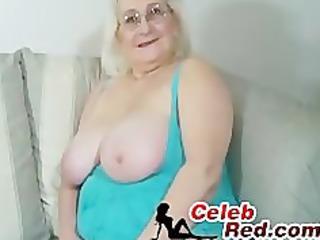 blonde granny orall-service