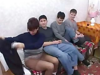 russian mommy fuck son & his allies