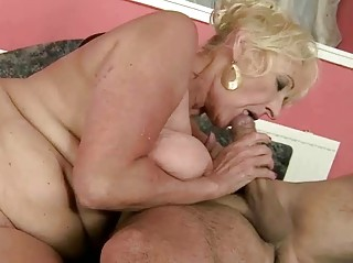 hawt granny fucking with her trainer