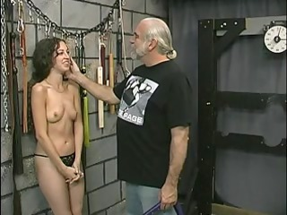 youthful tattooed bdsm martyr hotty acquires her