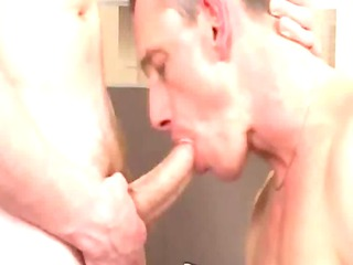 hot aged boy receives sucked and rimmed by twink