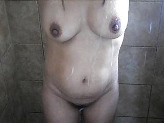 filipina milf shower