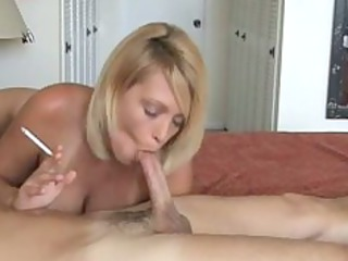 sexy golden-haired mother i smoke and gives hot