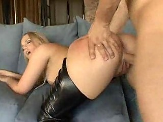 golden-haired mother i in lewd boots screws her