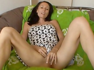 busty mother i whore masturbates