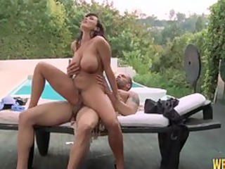 breasty d like to fuck lisa ann receives cunt
