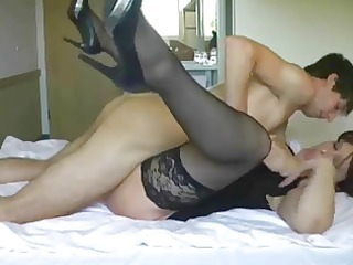 big-tit mature acquires screwed and facialed by