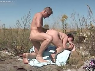 dirty mature wife bows over and acquires part7
