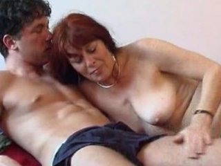older woman with a juvenile boy 2