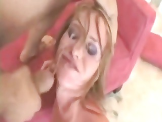 hot bitches eating cum, drinking cum and getting