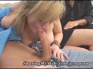 lustful wife sharing her snatch