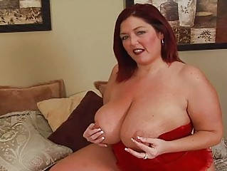 randy redhead fat momma with large bosom