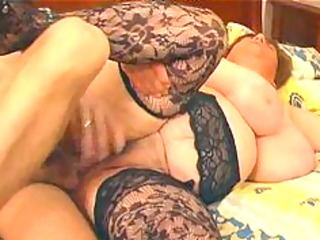 large busty in lace nylons bonks big beautiful