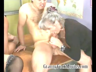 grannies fucking youthful dudes