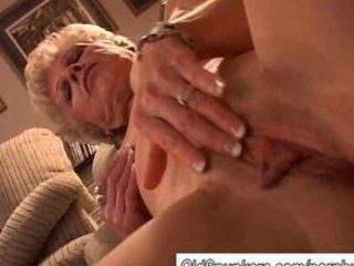hot granny has a wet cunt
