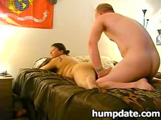 wife acquires screwed while hubby filming it