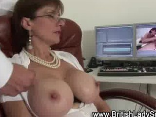 lascivious aged lady sonia acquires a spunk flow