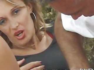 french lady sodomized in outdoor