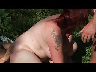 bid milk shakes milf drilled anal by 4 young
