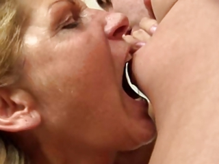 aged renate (a.k.a. betina) engulf and fuck dude