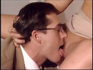 blond italian d like to fuck secretary munches on