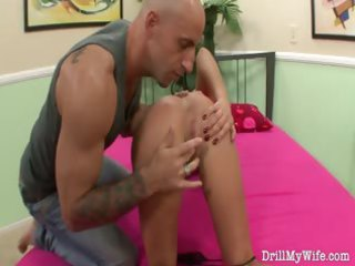 naughty wife does a stranger and she is loves it