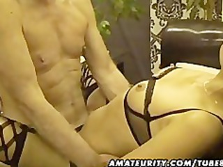 amateur sluts in a homemade group-sex