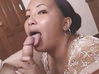 wicked older asian acquires cumfaced after hot