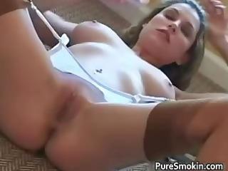 sexy dark brown mother i jamie lynn smokes part3