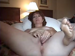 wife alone in hotel room.
